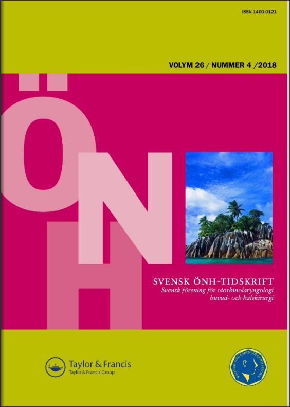 Svensk ÖNH tidskrift